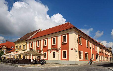 Silvestrovský pobyt v jihočeské Bechyni v hotelu Panská