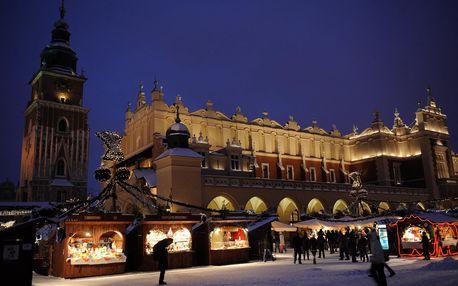 Adventní Krakov | Jednodenní zájezd na vánoční trhy do Polska