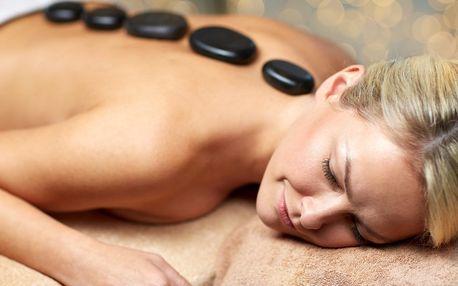 Celotělová masáž horkými lávovými kameny