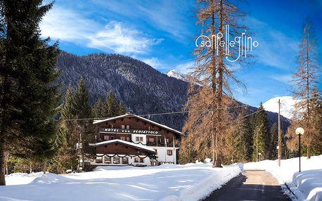 6denní Falcade se skipasem | Hotel Scoiattolo*** | Doprava, ubytování, polopenze a skipas