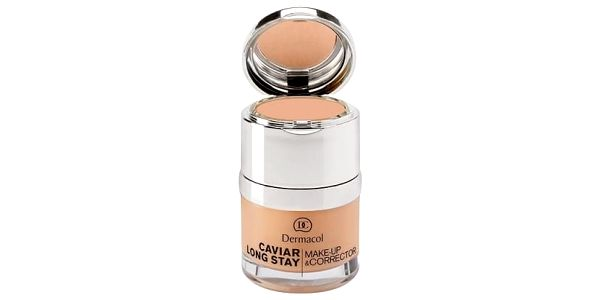 Dermacol Caviar Long Stay Make-Up & Corrector 30 ml makeup pro ženy 4 Tan
