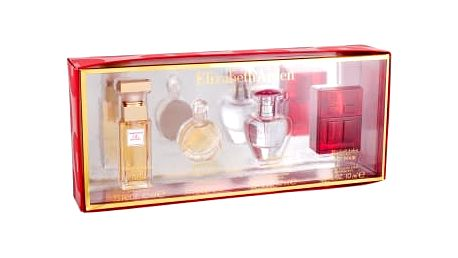 Elizabeth Arden Mini Set 4 dárková kazeta pro ženy edp 5th Avenue 10 ml + edp Untold 5 ml + edp Pretty 10 ml + edt Red Door 10 ml miniatura