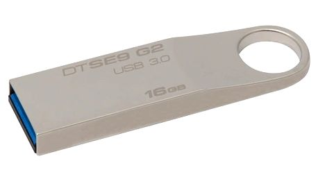 USB Flash Kingston DataTraveler SE9 G2 16GB kovový (DTSE9G2/16GB)
