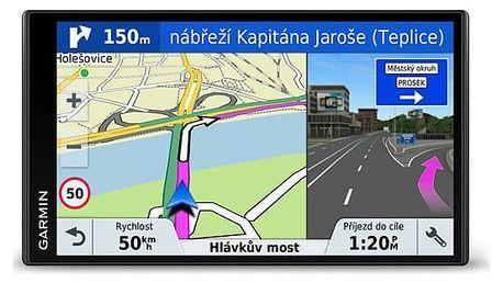 Navigační systém GPS Garmin DriveSmart 61T-D Lifetime Europe45 černá (010-01681-13)