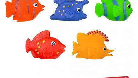 Gumové rybičky na hraní do vody 3 ks