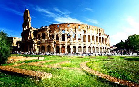 Pobyt v Římě pro dva se snídaní v Hotelu Club House Roma ****.
