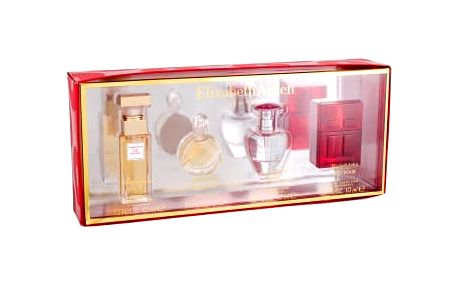 Elizabeth Arden Mini Set 4 dárková kazeta pro ženy edp 5th Avenue 10 ml + edp Untold 5 ml + edp Pretty 10 ml + edt Red Door 10 ml miniatura