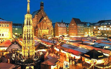 Adventní Norimberk 2018 největší adventní trhy v Evropě. Celodenní výlet za vánočními trhy a nákupy.