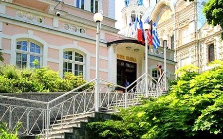Wellness pobyt s polopenzí v Karlových Varech pro 2 osoby na 3 nebo 7 dní ve 4* hotelu Eliška.