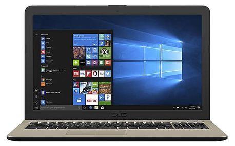 Notebook Asus X540NA-GO086T černý + dárky (X540NA-GO086T)