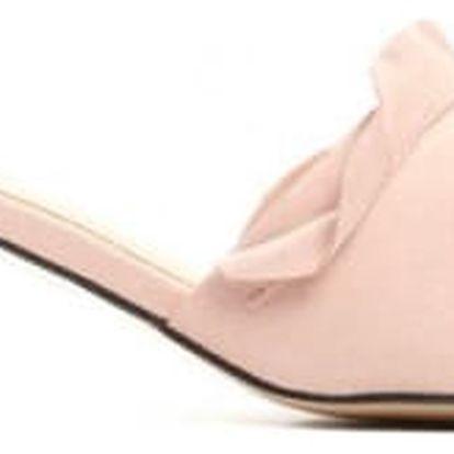 Dámské růžové pantofle Maria 1485