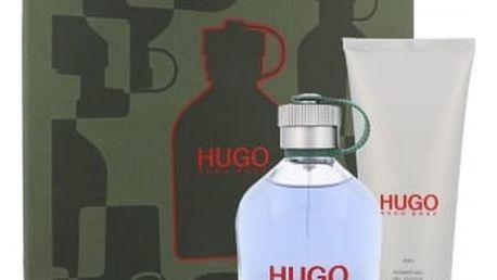 HUGO BOSS Hugo Man dárková kazeta pro muže toaletní voda 200 ml + sprchový gel 100 ml