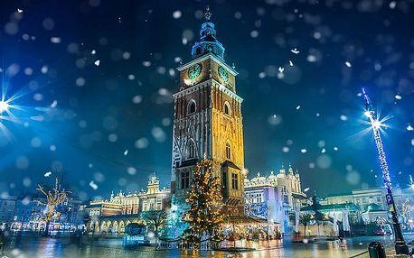Celodenní zájezd pro 1 na adventní trhy do Krakova s návštěvou solného dolu Wieliczka