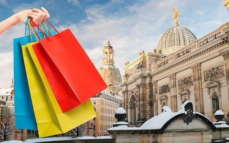 1denní zájezd pro 1 do Drážďan na nákupy s prohlídkou města