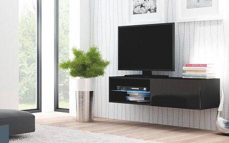 Televizní stolek Livo RTV 120W černá