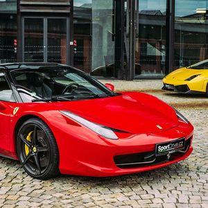 Jízda ve Ferrari 458, FF či Lamborghini Gallardo