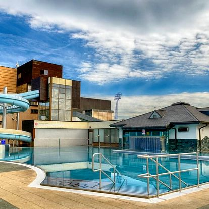 Poprad, hotel Riverside přímo u aquaparku s wellness zónou a polopenzí
