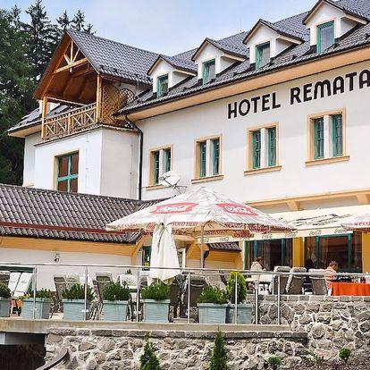 Jesenný pobyt v príjemnom prostredí Hotela Remata***