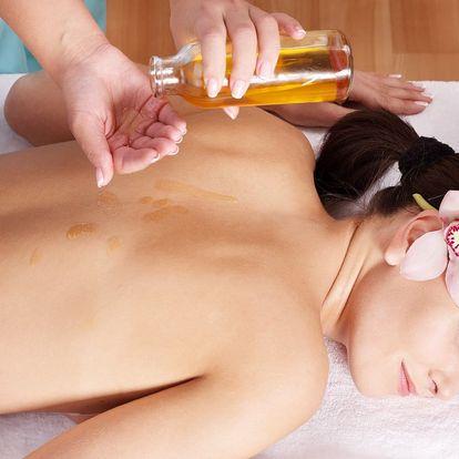 45–90 minut relaxační olejové masáže dle výběru