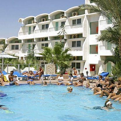 Egypt - Hurghada na 8 až 11 dní, all inclusive s dopravou letecky z Prahy 200 m od pláže