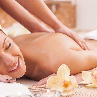 Zážitková, relaxační 90minutová masáž vč. masky