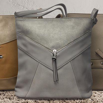 Elegantní kabelky z eko kůže: 3 modely a 7 barev