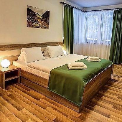 Luxusní apartmány jen kousek od vrcholu Chopok