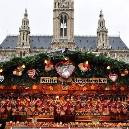 Vídeň - skvělý adventní výlet, odjezd z Brna a okolí