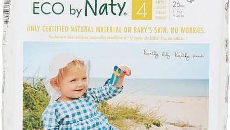 NATY NATURE BABYCARE 4 MAXI, 26 ks (7-18 kg) - jednorázové pleny