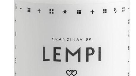 SKANDINAVISK Mléko na ruce LEMPI (láska) 300 ml, bílá barva, plast