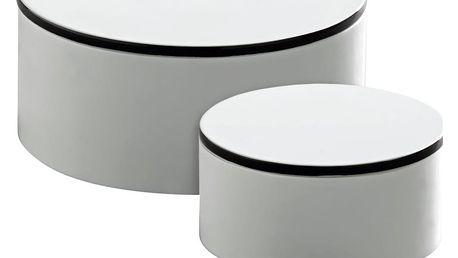 Tine K Home Dřevěná krabička Tine K Větší, bílá barva, dřevo