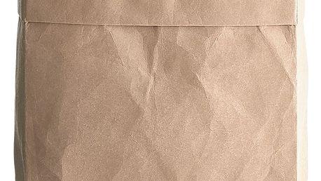 House Doctor Papírový box CRAFT 26x18, hnědá barva, papír