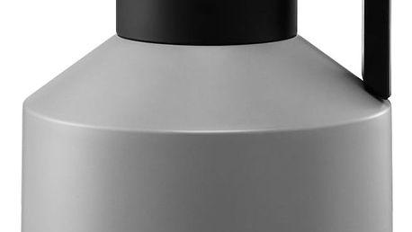 normann COPENHAGEN Termokonvice Geo Grey, šedá barva, černá barva, plast