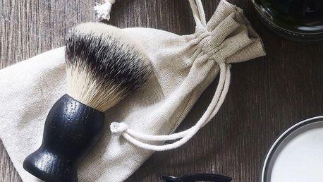 meraki Štětka na holení Men, černá barva, dřevo