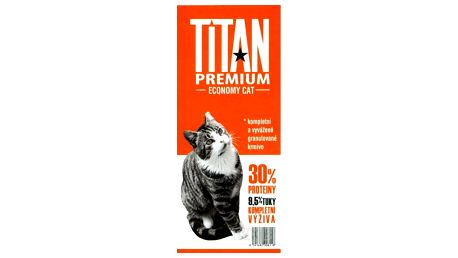 TITAN Economy Cat Food 1 kg - kompletní krmivo pro kočky