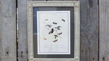 Chic Antique Fotorámeček French Frame 24x29, béžová barva, sklo, dřevo