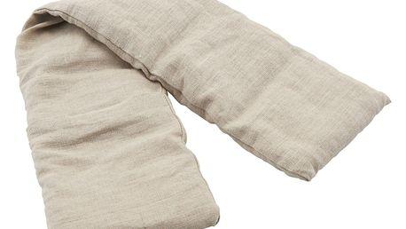 meraki Nahřívací polštářek Meraki - větší, béžová barva, přírodní barva, textil
