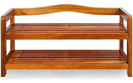 Botník z akátového dřeva D5378 Dekorhome