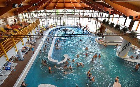 Hunguest hotel Freya v Zalakároši propojen s termálními lázněmi s polopenzí