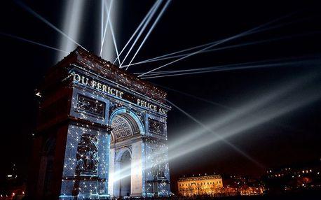 Silvestr ve městě zamilovaných v Paříži + sekt do páru
