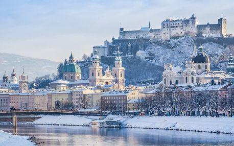 Adventný Salzburg s behom čertov a Hallstatt