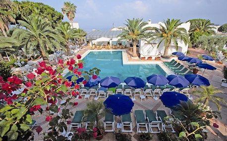 Itálie - Ischia na 12 dní, polopenze s dopravou letecky z Prahy 200 m od pláže