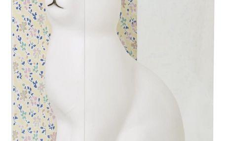 rice Dětské noční LED světýlko Rabbit, bílá barva, plast