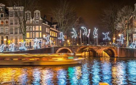 Adventní Amsterdam, Festival světel a sýry v ceně