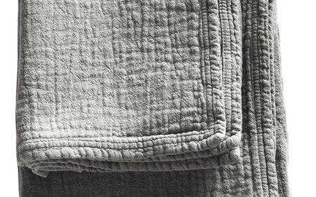 Tine K Home Bavlněný ručník Kit 50x100cm, šedá barva, textil