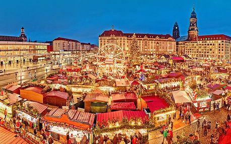 Celodenní zájezd pro 1 na adventní trhy v německých Drážďanech