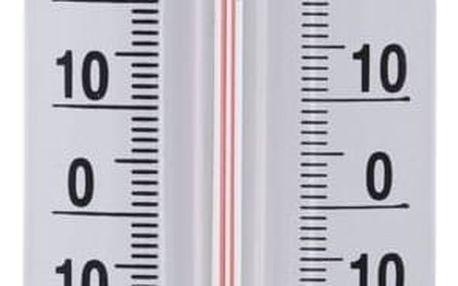 MONOGRAPH Lihový teploměr Thermometer White, bílá barva, kov