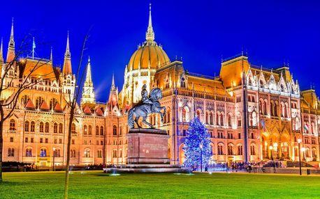 Na otočku do romantické adventní Budapešti