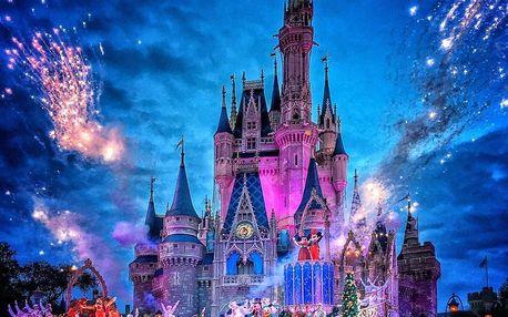 4 denní Silvestr v Paříži s návštěvou Disneylandu s ohňostrojem