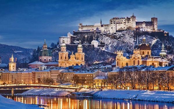 Vánoční trhy v Salzburgu včetně prohlídky města